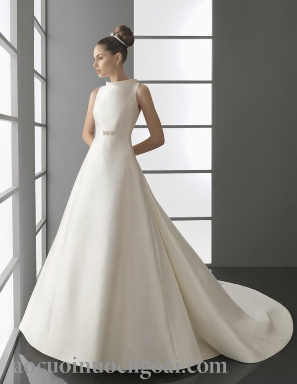 Áo cưới chữ a NN1017