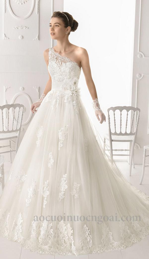 Áo cưới chữ a NN1021
