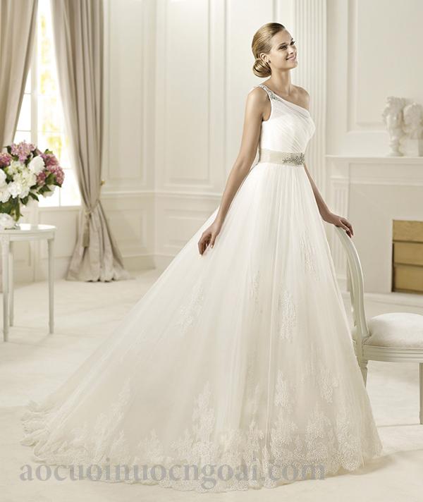 Áo cưới chữ a NN1027