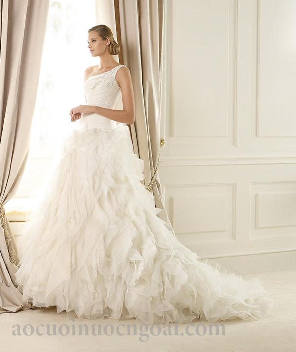 Áo cưới chữ a NN1030