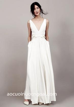 áo cưới nhẹ nhàng đơn giản