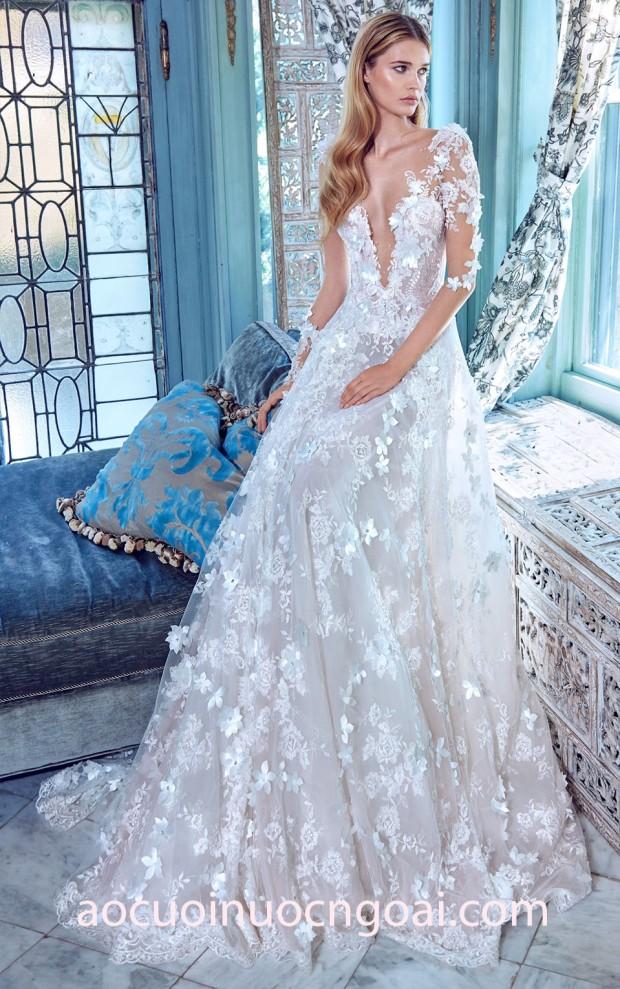 ao cuoi 2018 ao cuoi cong chua Galia Lahav Le Secret Royal 2017 may ao cuoi dep tp hcm ao cuoi meera meera fashion concept