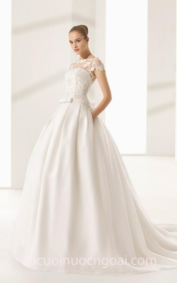may váy cưới đẹp sài gòn áo cưới công chúa ROSA CLARÁ 2018 COUTURE FW_DALLAS váy cưới cao cấp meera meera fashion concept