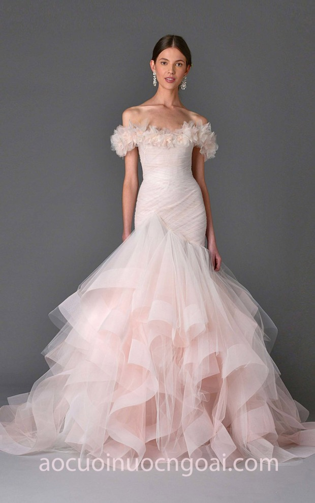 váy cưới công chúa đẹp lộng lẫy 2018 Marchesa-bridal may váy cưới đẹp tp hcm áo cưới meera meera wedding dress