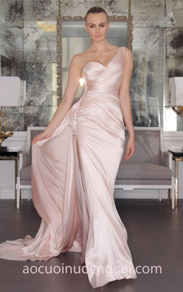 áo cưới đuôi cá lệch vai Romona Keveza 17 RK6454 may áo cưới đẹp sài gòn tp hcm meera meera bridal