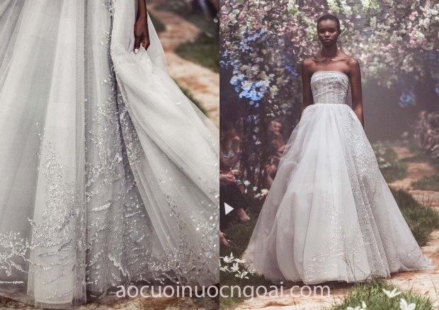 xưởng may áo cưới đẹp tp hcm sài gòn váy cưới meera meera fashion concept váy cưới cúp ngực Paolo Sebastian Spring 2018 4