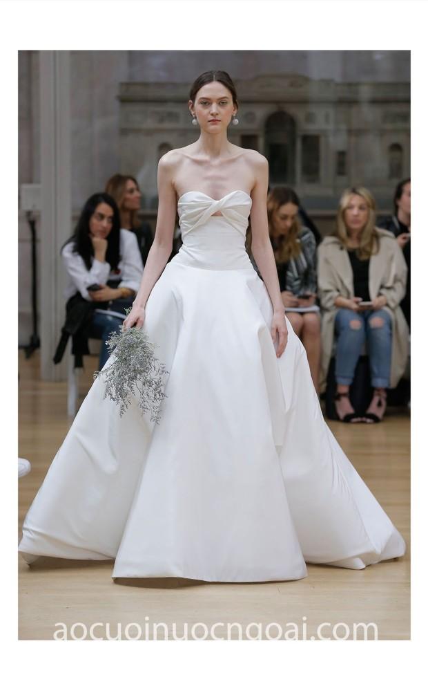 may vay cuoi dep sai gon tp hcm meera meera fashion concept vay cong chua Oscar BRIDAL 2018 LOOK 29 LINCOLIN