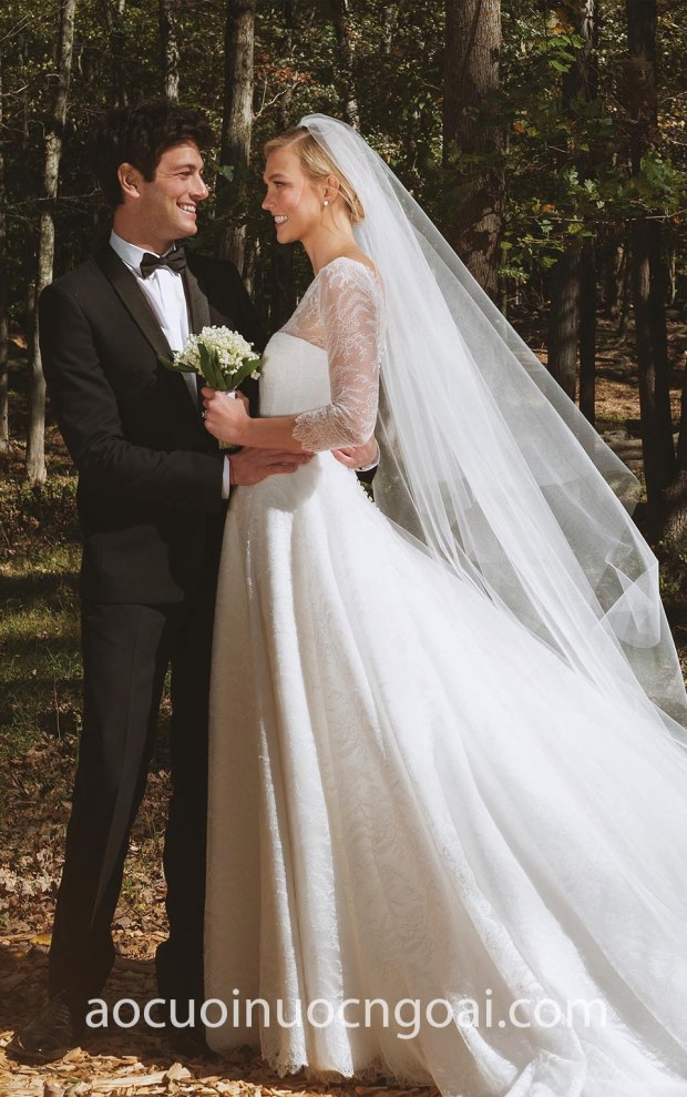 vay cuoi Karlie Kloss Wedding Dress Dior may ao cuoi dep tp hcm sai gon meera meera bridal