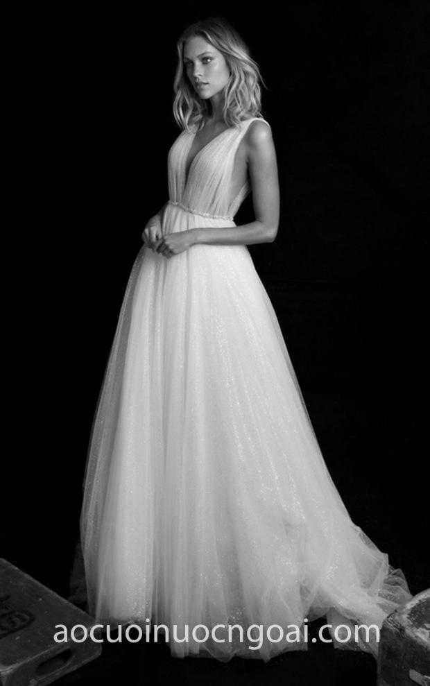 vay cuoi cong chua dep Chantal Romano 2019 Fairy xuong may ao cuoi cao cap tp hcm meera meera bridal