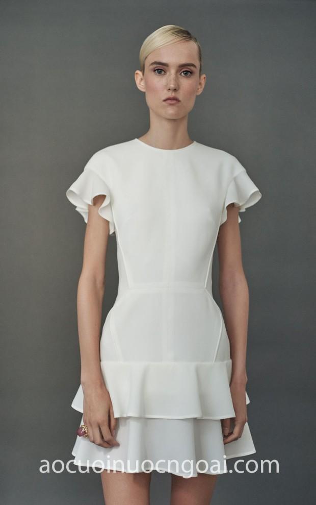 xuong may ao cuoi cao cap tp hcm sai gon meera meera fashion concept vay cuoi 2 tang J.Mendel Resort 18 Look 07