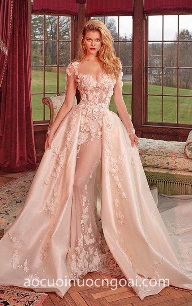 vay cuoi cong chua long lay galia lahav ss 2019 thea may ao cuoi dep tp hcm sai gon meera meera bridal
