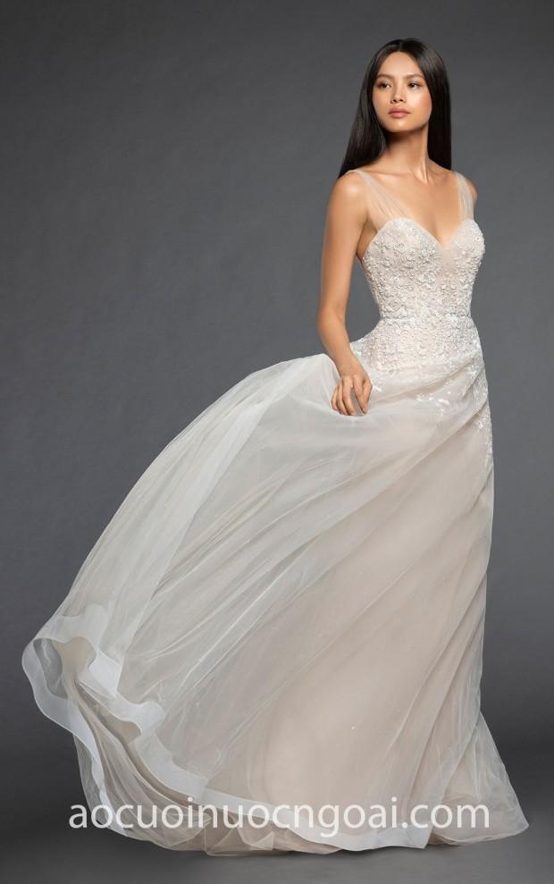 may vay cuoi dep tp hcm meera meera fashion concept 2019 Lazaro Bridal Fall 2018 Mariana