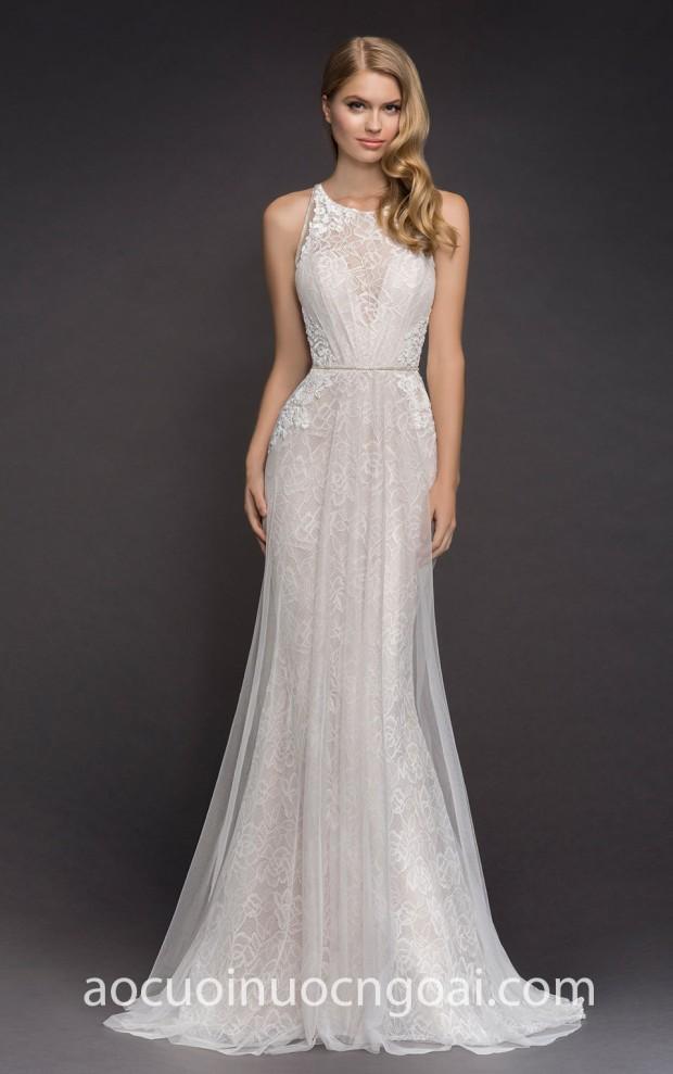 ao cuoi meera meera fashion concept may vay cuoi dep tp hcm sai gon Hayley Paige Bridal Blush Fall 2018 Dawson_2