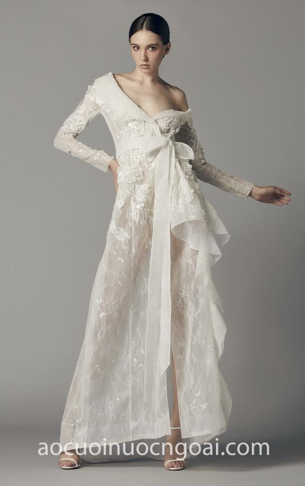 may ao cuoi dep sai gon meera meera bridal vay cuoi vest