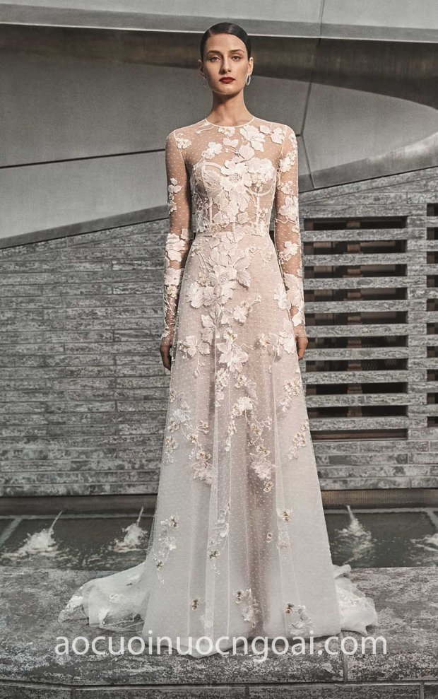 may ao cuoi dep tp hcm meera meera fashion concept vay cuoi ren tay dai