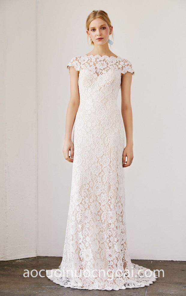 vay cuoi ren may ao cuoi dep sai gon meera meera fashion concept Tadashi Shoji Bridal SS19 Maverick