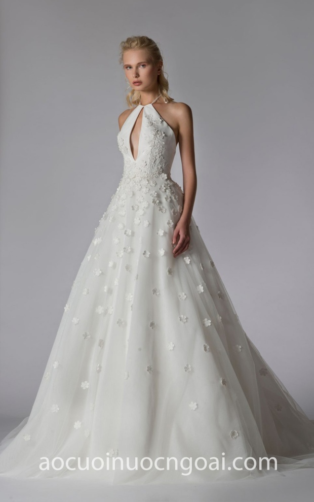 ao cuoi cong chua long lay GEORGES-HOBEIKA-BRIDAL