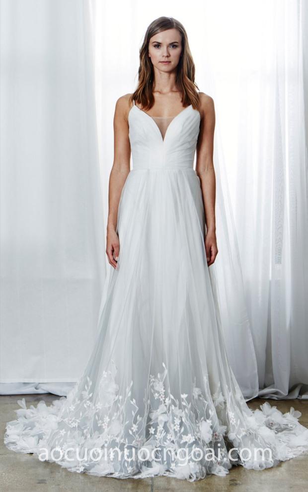 ao cuoi meera meera bridal may ao cuoi dep tp hcm Kelly Faetanini SS 2019 PENELOPE