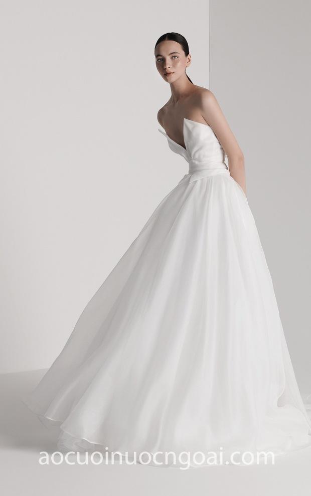ao cuoi meera meera bridal may vay cuoi dep tp hcm Antonio Riva Spring 19 Elisabetta
