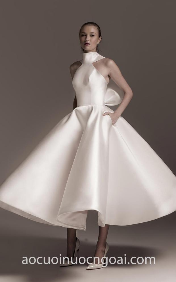 ao cuoi meera meera fashion concept vay cuoi cong chua tea length