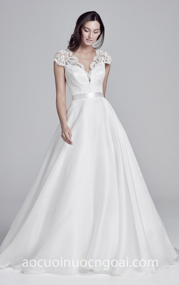 ao cuoi ren thanh lich may ao cuoi dep tp hcm meera meera fashion concept