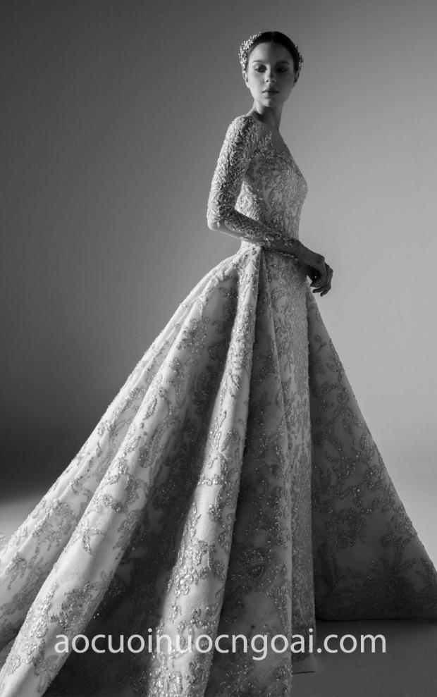 may ao cuoi cong chua dep tp hcm meera meera bridal meera meera fashion concept Krikor Jabotian 18 Look 3