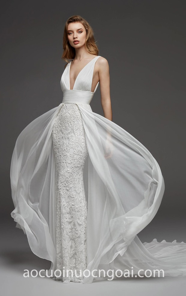 xuong may ao cuoi cao cap tp hcm meera meera fashion concept vay cuoi da tiec Pronovias Atelier 19 CANNES