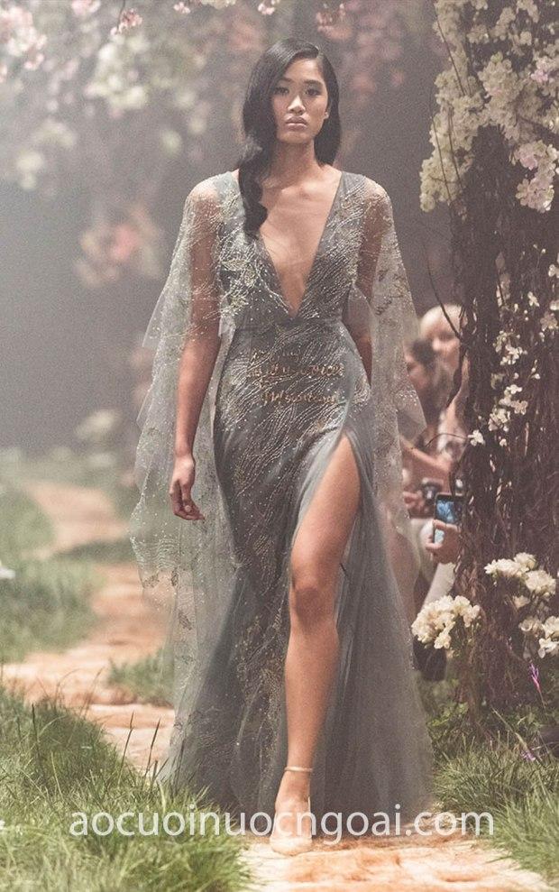 ao cuoi da tiec xe ta sexy Paolo Sebastian Spring 18 8 may ao cuoi dep tp hcm Meera Meera Fashion Concept