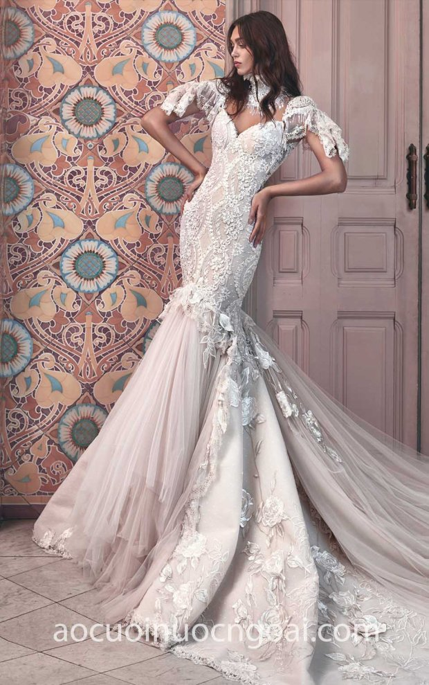ao cuoi duoi ca long lay Galia Lahav 16