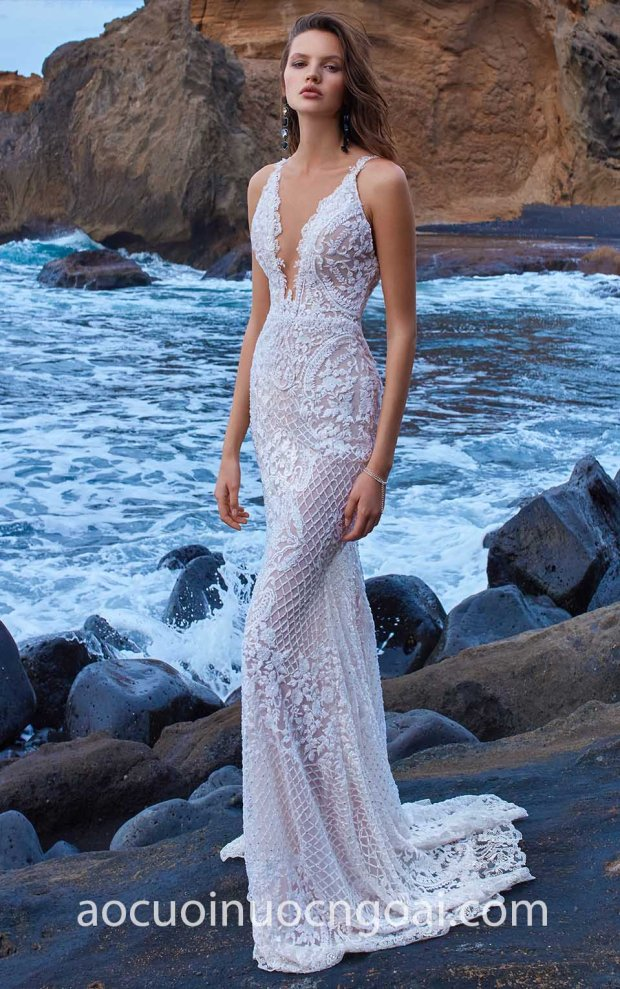 ao cuoi duoi ca xuyen thau dinh da Galia Lahav 18 No5 GALA-1009 may ao cuoi dep tp hcm meera meera fashion concept