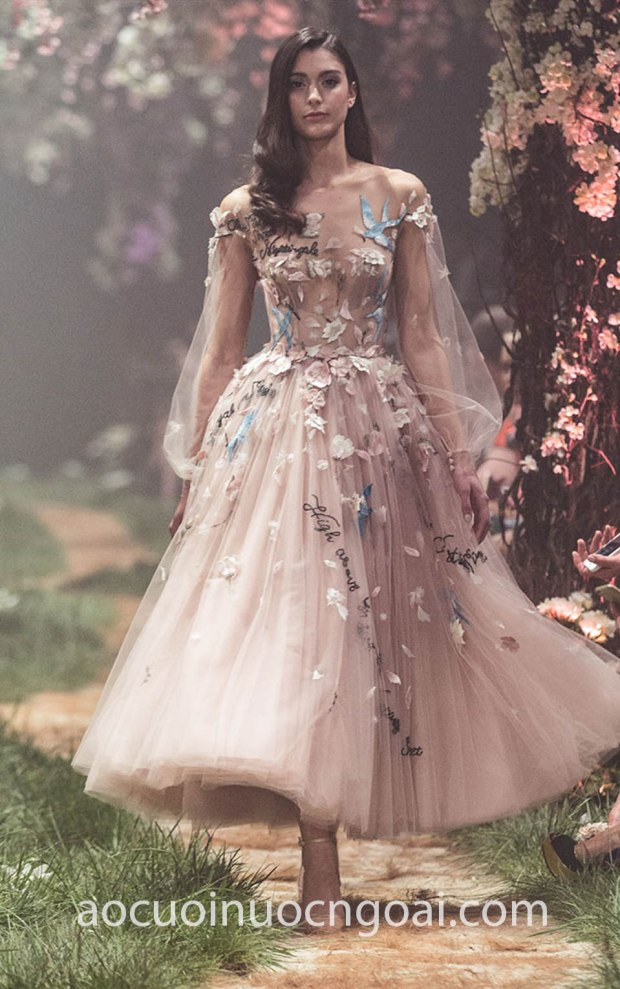 ao cuoi meera meera bridal may ao cuoi dep sai gon tp hcm Paolo Sebastian Spring 18 12