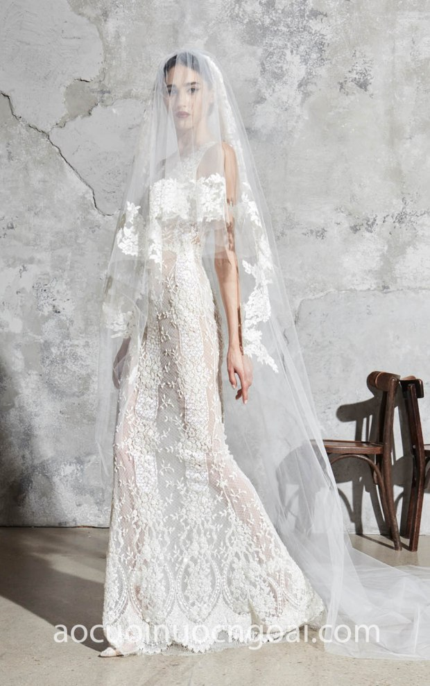 ao cuoi Meera Meera Bridal may ao cuoi ren TP HCM Meera Meera Fashion Concept Zuhair Murad SS20 05