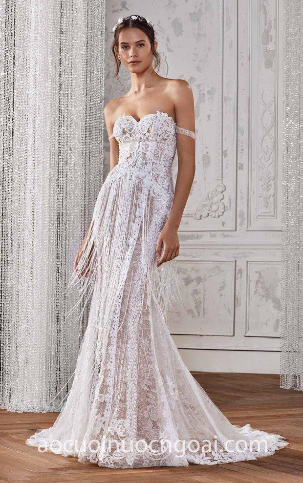 ao cuoi Meera Meera may ao cuoi dep Sai Gon Meera Meera Fashion Concept San Patrick Studio 2019 KATHE