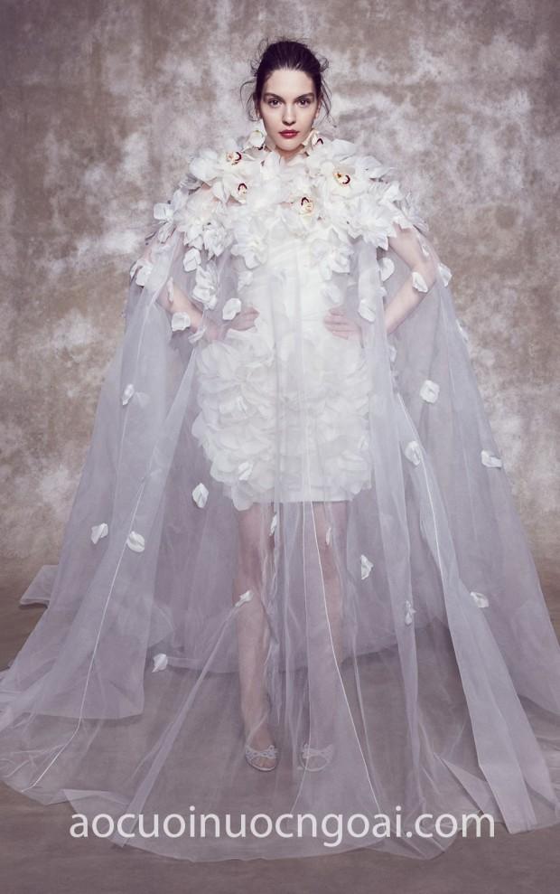 ao cuoi cong chua an tuong Marchesa Bridal SS20 08 may ao cuoi dep TP HCM Meera Meera Fashion Concept