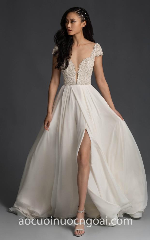 ao cuoi da tiec xe ta sexy may ao cuoi dep TP HCM Meera Meera Fashion Concept Hayley Paige FW19 Finley