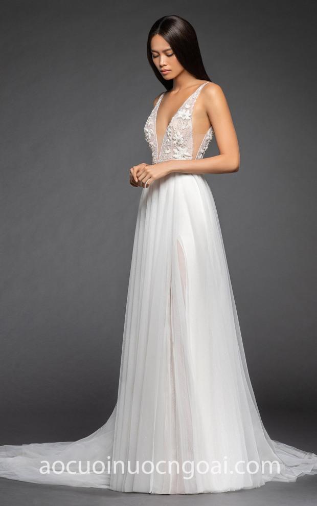 dia chi may ao cuoi dep Sai Gon TP HCM Meera Meera Fashion Concept Lazaro Bridal Roxana