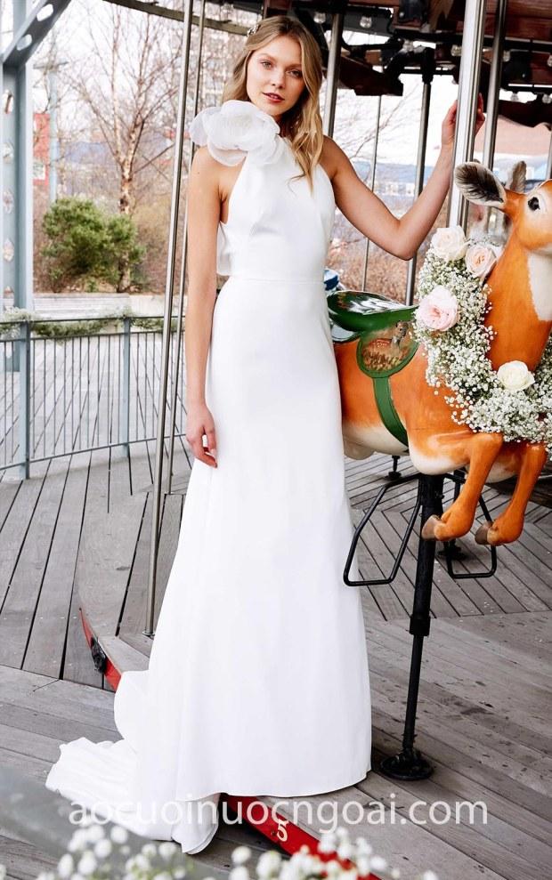 may ao cuoi dep Sai Gon-TP HCM Meera Meera Fashion Concept ao cuoi no Lela Rose SS20 Hadley