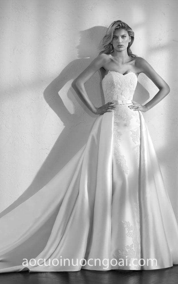 ao cuoi Meera Meera Bridal xuong may ao cuoi cao cap Sai Gon-TP HCM San Patrick Studio Zensui