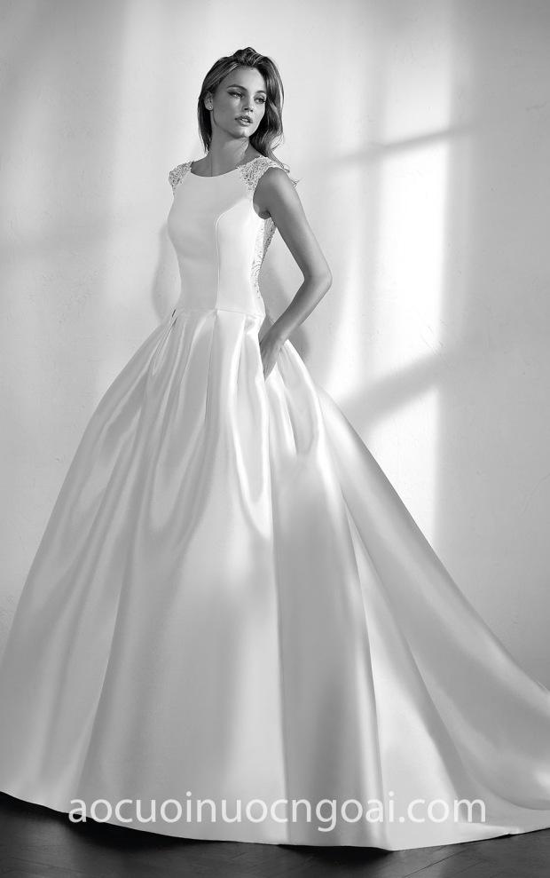vay cuoi Meera Meera Bridal San Patrick Studio Zenon