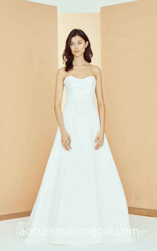 Áo cưới cúp ngực satin NN7014