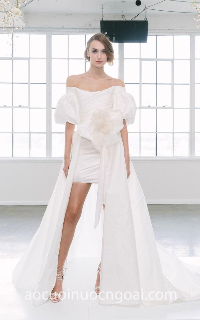 Áo cưới chân váy bút chì