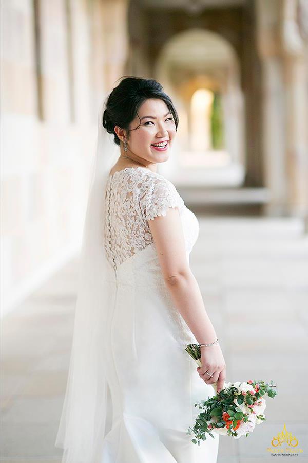 xưởng may áo cưới cao cấp meera meera fashion concept cô dâu mũm mĩm